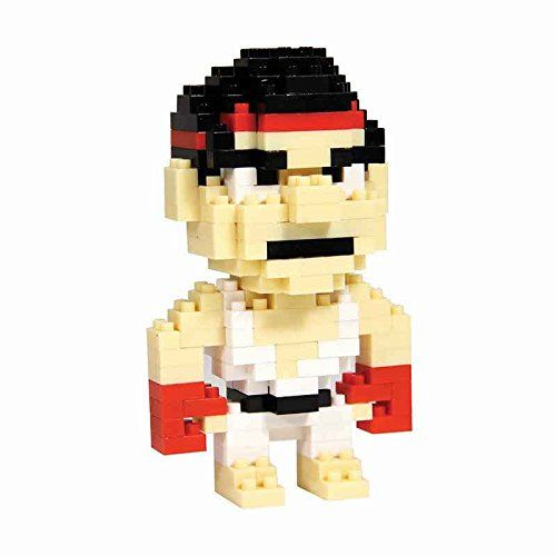 Street Fighter Ryu Pixel Bricks  Manufacturer: Paladone Products Ltd. Enarxis Code: 015589 #toys #Street_Fighter #Ryu #videogames #bricks