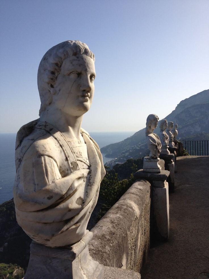 Villa Cimbrone, Ravello, Amalfi kysten