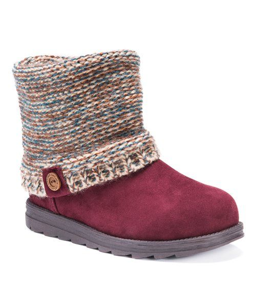 Look at this MUK LUKS Almond Patti Boot - Women on #zulily today!