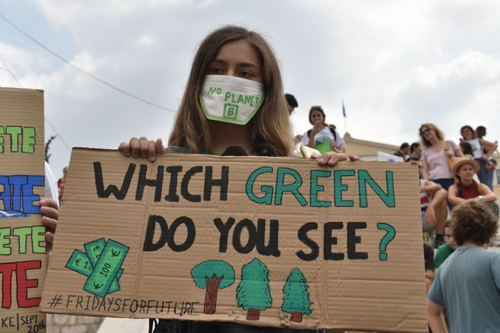 The Best Signs From The Climate Change Rallies Around The World Huffpost Climate Change Poster Climate Change Design Climate Change