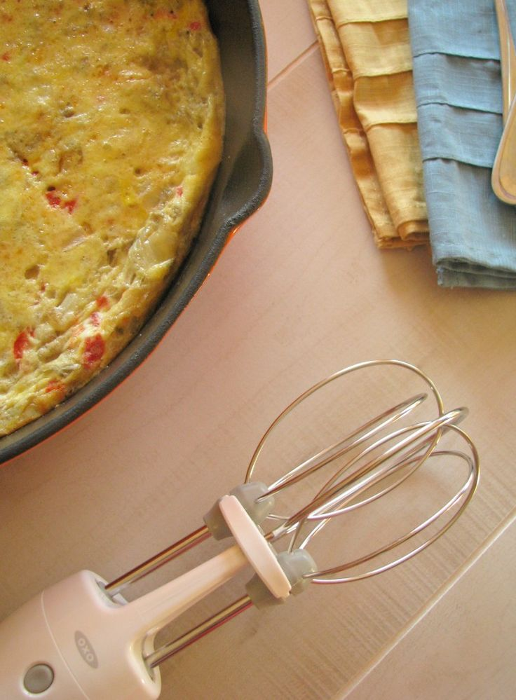 36 best turn the beat around oxo egg beater images on pinterest yum artichoke and roasted red pepper frittata a delicious and wonderfully inexpensive meal forumfinder Images