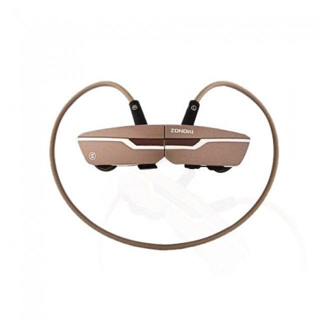 Zonoki (Kulta) Langattomat Bluetooth Kuulokkeet - Ilmainen Toimitus!