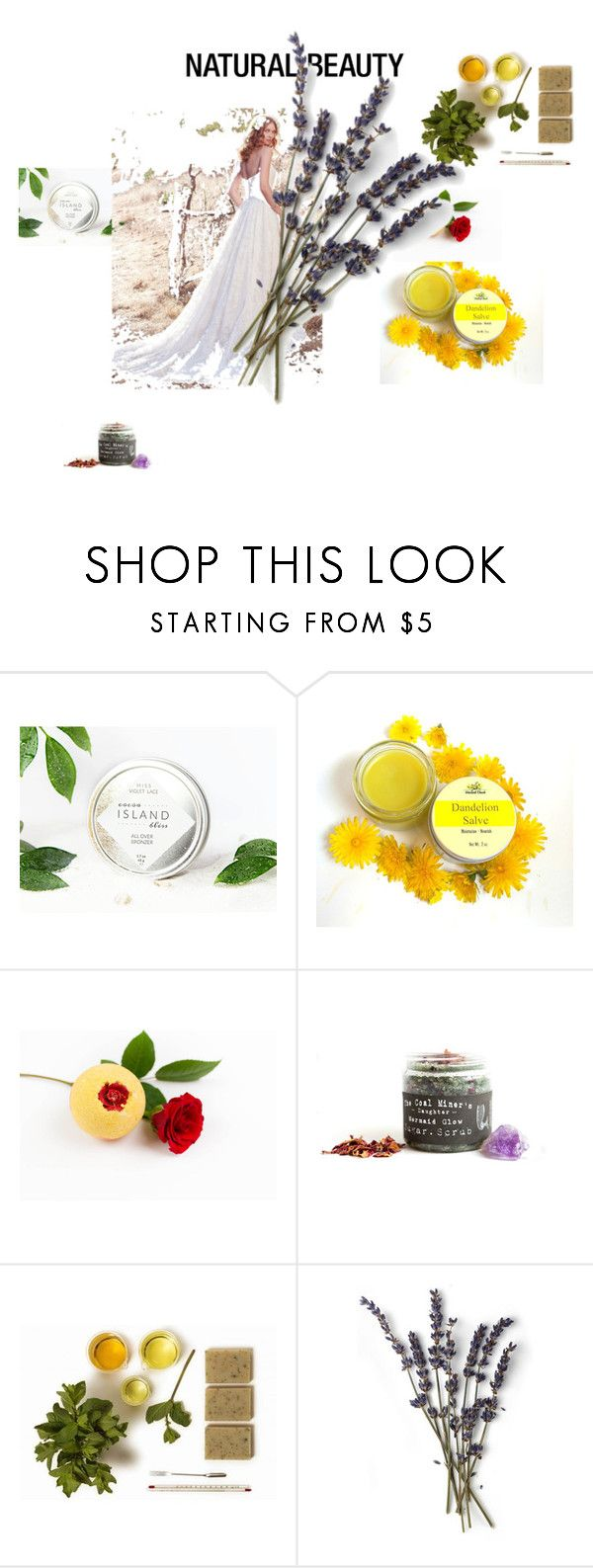 """natural beauty"" by sarah-witheridge ❤ liked on Polyvore featuring beauty and Maggie Sottero"