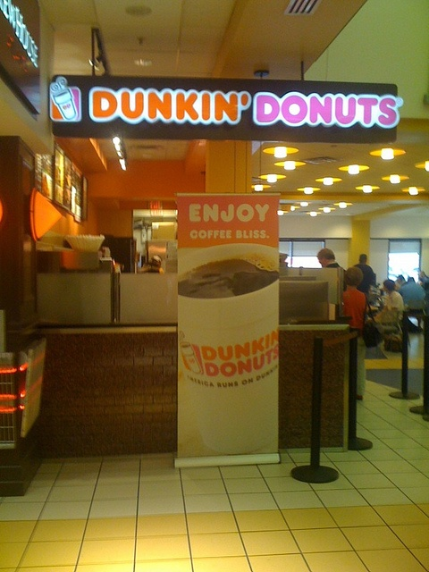 Dunkin Donuts - oh yeah!  Was raised on this stuff and still love it!  Chilled, iced, extra, extra.