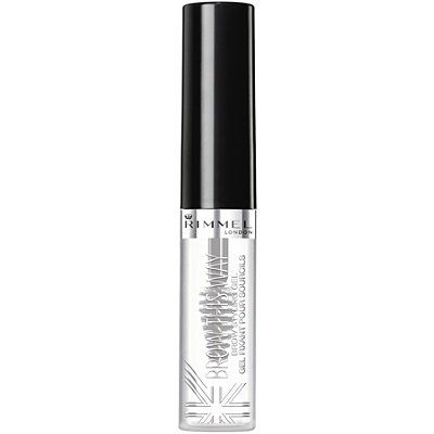 Rimmel London Brow This Way Brow Styling Gel Clear. I bought the Anastasia clear brow gel and I hated it. I felt like I couldn't get any product out. I love this clear brow gel by Rimmel. It holds so well. I don't like this particular applicator for the colored gels though. Its too large and messy.