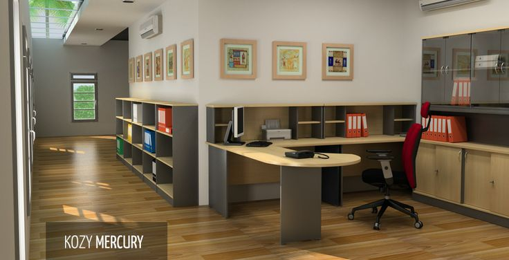 Kozy Mercury | HighPoint Office Mercury is made for Small Office and Home Offices, providing extra vertical storage space in limited work areas.