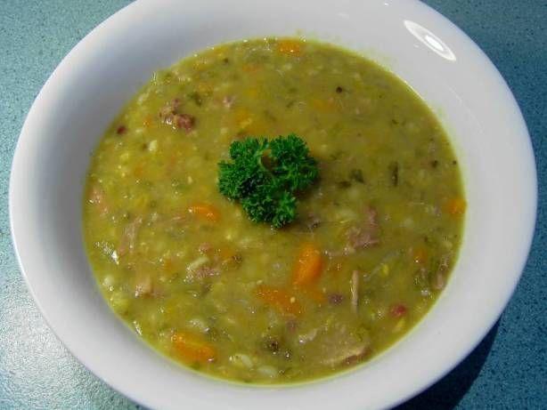 Lamb Shank Soup