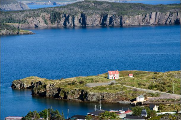 To see this view of Trinity and its surrounding waters, you have to hike to the top of Gun Hill. (Julia Pelish/Vacay.ca)