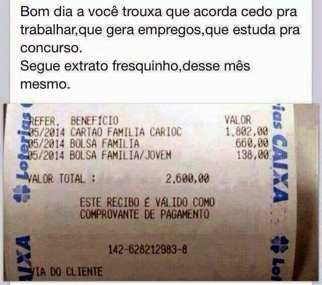 panorama:  Bolsa Familia e assistencialismo da mais que Sala...