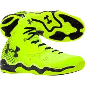 Under Armour Men's ClutchFit Lightning Basketball Shoe - Yellow/Black | DICK'S Sporting Goods