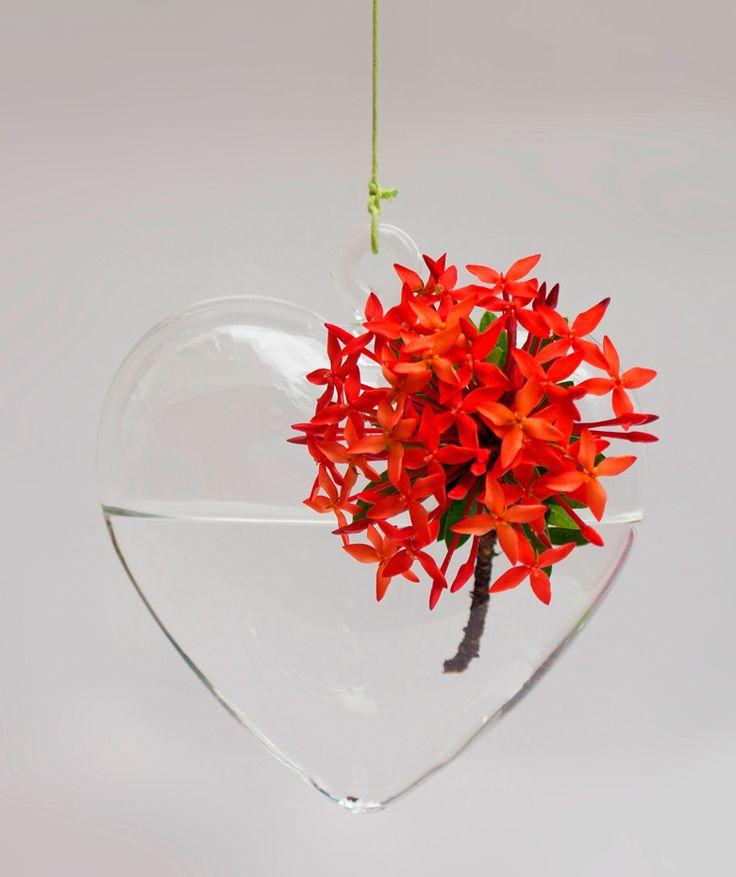 Regalos que encantan: Floreros Colgantes en forma de Corazón en Dekosas. QUIERO 2