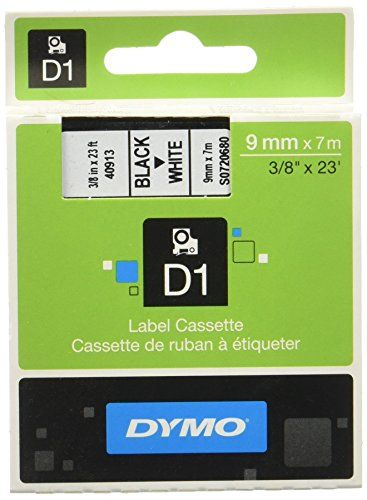 From 5.15 Dymo D1 Standard Self-adhesive Labels For Labelmanager Printers 9 Mm X 7 M