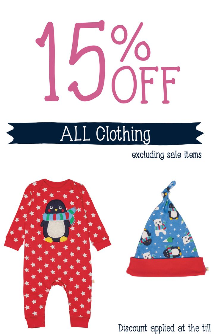 15% off all Frugi clothing at Natural Baby Shower