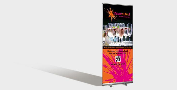 top design – Werbebanner für Feiereifer #corporatedesign #marketing #fullservice #logodesign