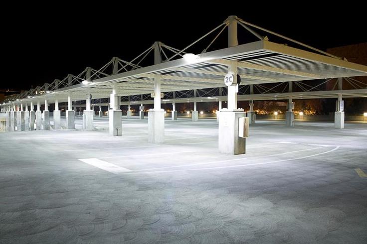 UC Davis Parking Lot w/LED Smart Lighting