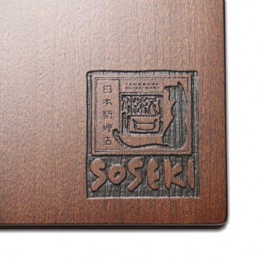 Real Wood Menu Covers - Wooden Restaurant Menus - Chinese New Year - Restaurant Ideas - Smart Hospitality - Real Wood Menu Holder