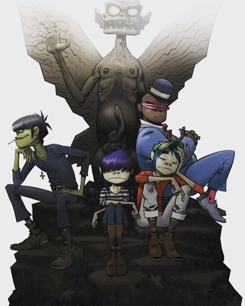 Gorillaz- Demon Days