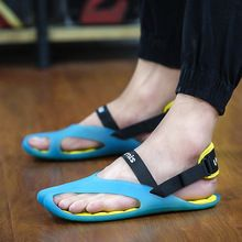 US $19.90 Charming Male Summer Sandals Slippers 2017 New Arrived Man Jelly Ultralight Flip Flops Sandals Pria Slippers Free Shipping. Aliexpress product