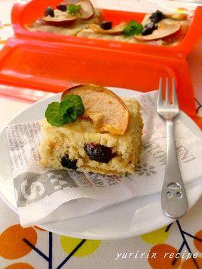 干しりんごとプルーンのケーキ