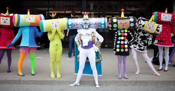 amazing Katamari Damacy cosplay! (not a comic either but still awesome)