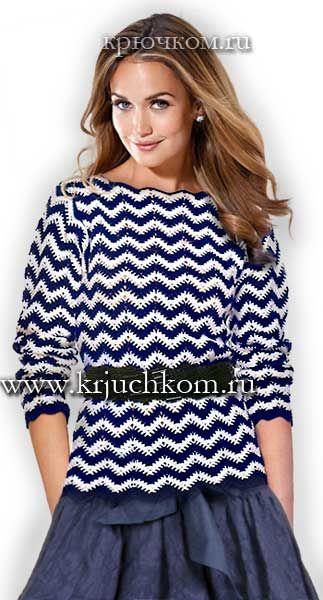 Модный женский свитер 2015-2016