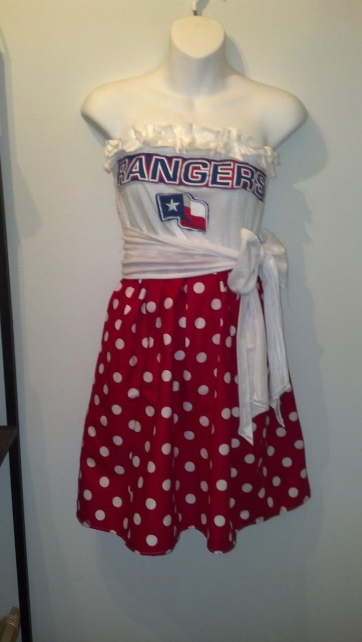 Texas Rangers Game Day Dress