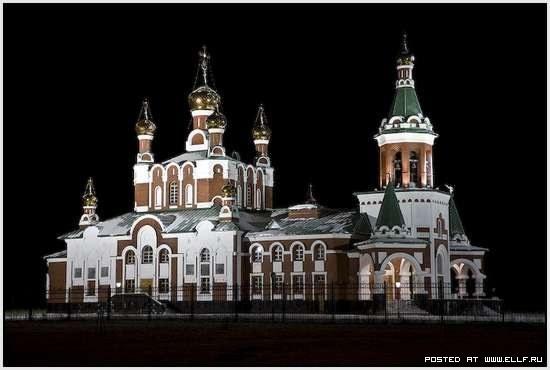 Церковь в Усинске (Республика Коми)