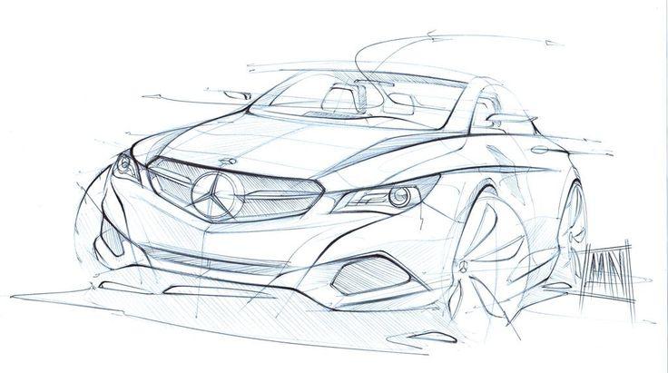 .Mercedes Sketch