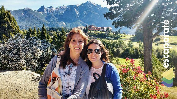 Experiencia Viajeros: Marianela y Susana Viajaron a Bariloche y San Martín de los Andes. Nos comparten un momento de su feliz estadía en el Sur Argentino.  #SomosEscaparate. #ViajaDescubriExplora