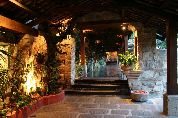 Entrada principal Hotel Santo Domingo