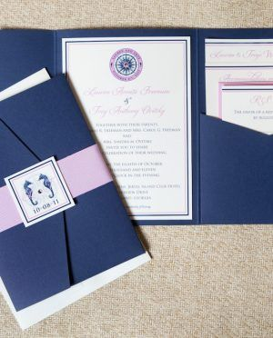 Blue Envelope Birchcraft Wedding Invitations With White Letter Design Classic Style For Your Ideas