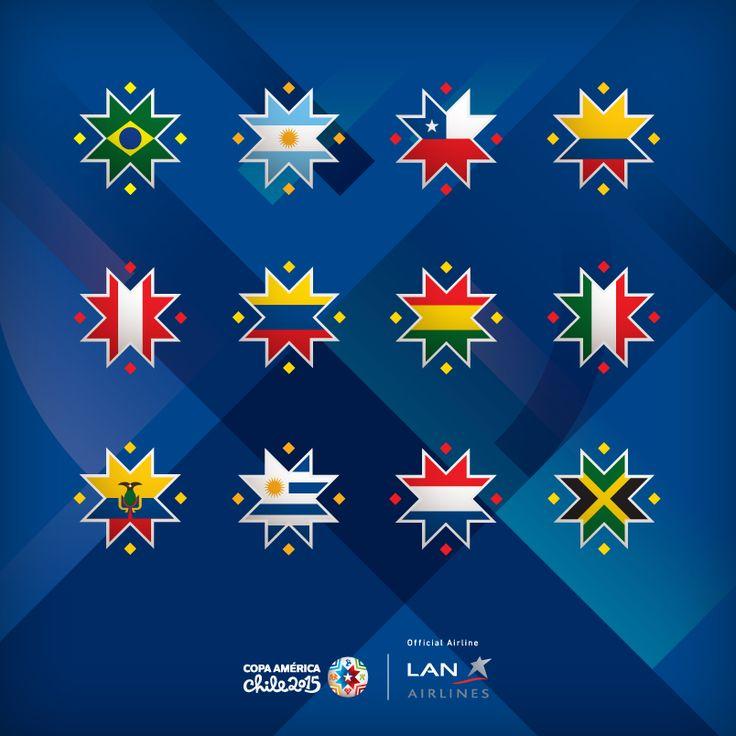 Hashflags  2015 Copa América #Chile2015
