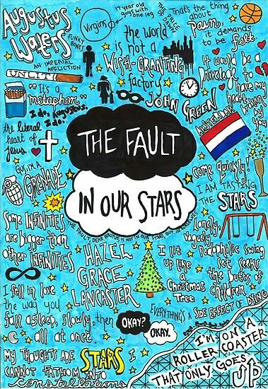 A great picture with the best sentences of the best movie ever! #the fault in our stars