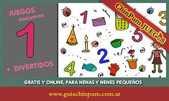 Juegos educativos online para niñas y niños pequeños: A buscar entre números y objetos!