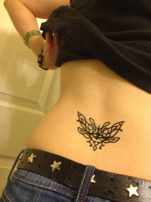 Redhead Gilf Gets Her Tramp Stamp Exposed - LETSDOEIT&period