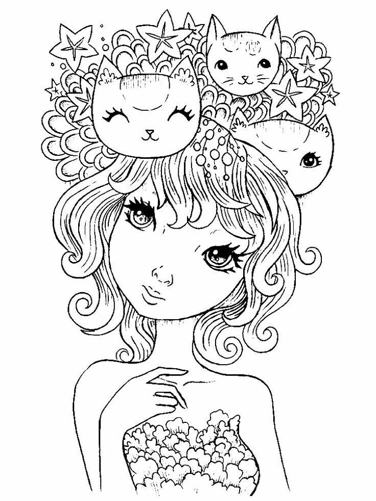 Coloring Books Pages Vintage