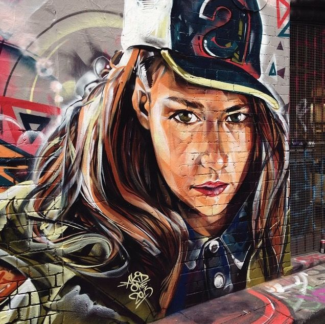 By akid in melbourne 2015 lp street art pinterest for Mitchell s fish market birmingham