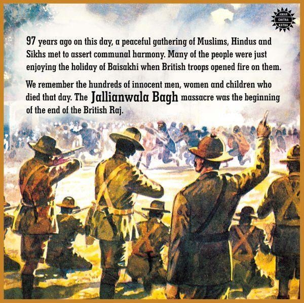 Remembering Jallianwala Bagh Massacre April 13, 1919
