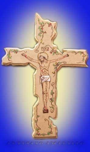 #cruz #pirograbada #artesanal