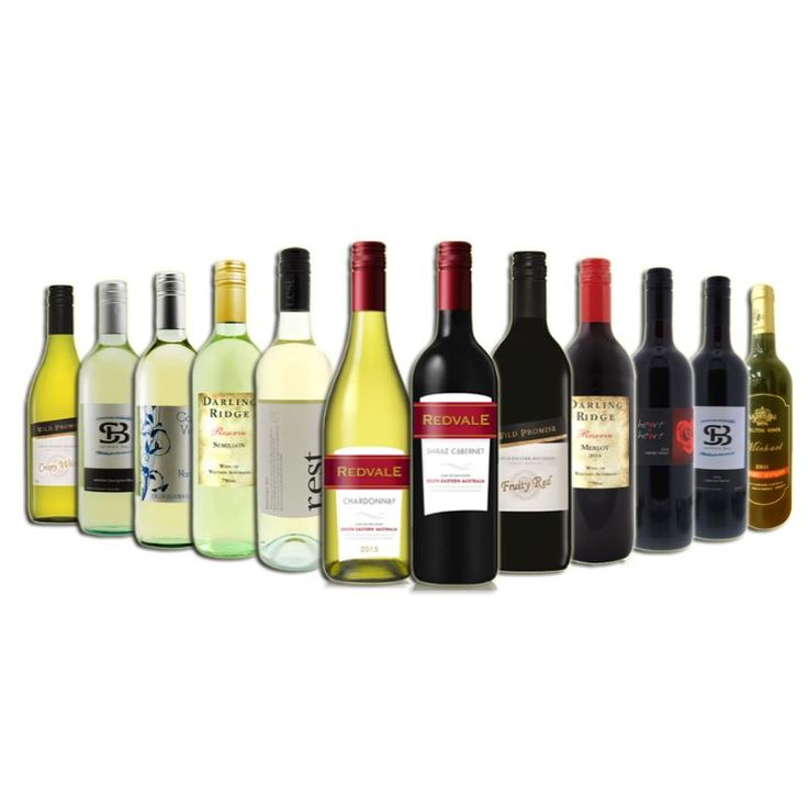 12 Bottles of Mixed Bold Magical Red and White Wine | Buy Mixed Packs