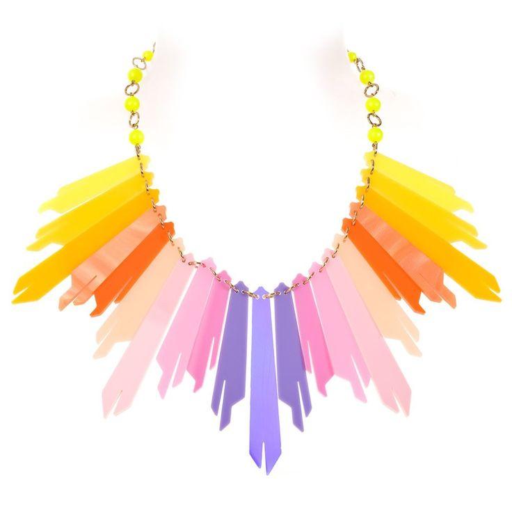 Tatty Devine radiance ultra necklace (sunrise)