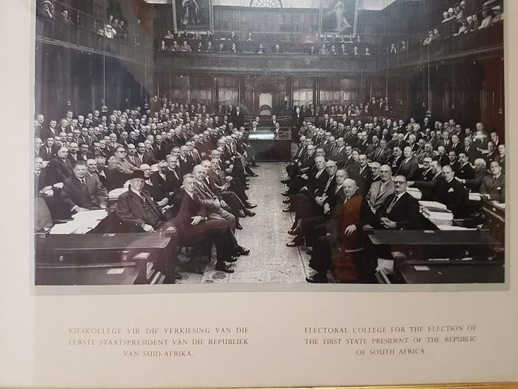 The previous, organised and dignifies Parliament of South Africa. Definitely not the circus of today!