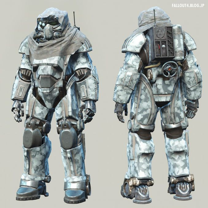 Fallout4: T-49 Power Armor of the Storyteller