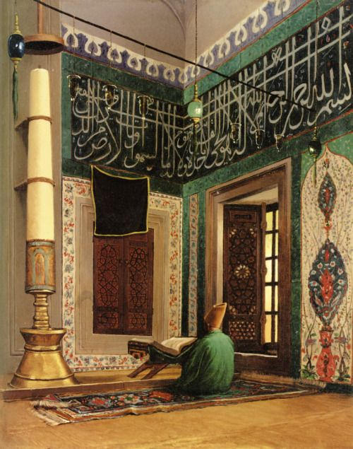 """More from Osman Hamdi Bey, often called the last great painter of the Ottoman Empire. While the """"exotic"""" was popular among Impressionist painters during the 19th Century, Bey shared the culture and geography with his subjects, lending authenticity to his work."""