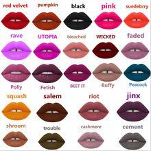 Maquillaje Cal VELVETINES MATE LÁPIZ LABIAL LÍQUIDO brillo de Labios de LA ORIGINAL Herramienta de Maquillaje de Labios de La Manera 32 Colores de la mezcla de Buena Calidad(China (Mainland))