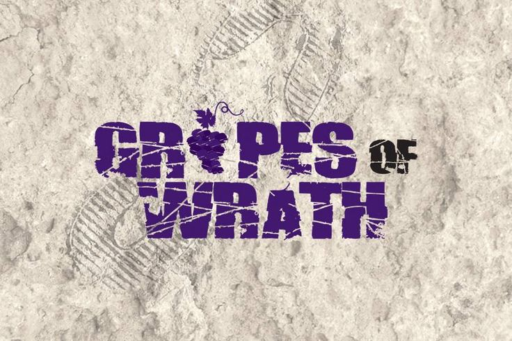 Grapes of Wrath - Extreme Stomp & Romp, Prince Edward County Saturday, August 29th, 2015 - 9:00 a.m. - 4:00 p.m. Hillier Creek Estates, 46 Stapleton Rd, Hillier, Prince Edward County, Ontario