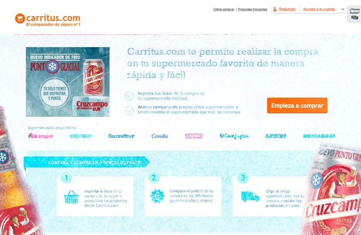 Carritus, el comparador de precios http://www.carritus.com/
