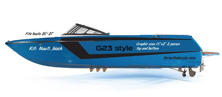 Air Nautique boat graphics. Custom and replacement vinyl #skiboats#airnautique