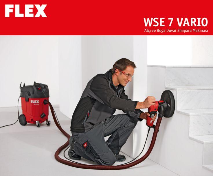 FLEX WSE 7 VARIO SET ile alçı ve boya duvarlarda sınırsız zımparalama imkanı. Alçı ve boya duvar zımpara makinasında üçgen ve yuvarlak zımpara başlıkları mevcuttur. http://www.ozkardeslermakina.com/urun/el-tipi-alci-zimpara-makinasi-flex-wse7-vario-set/