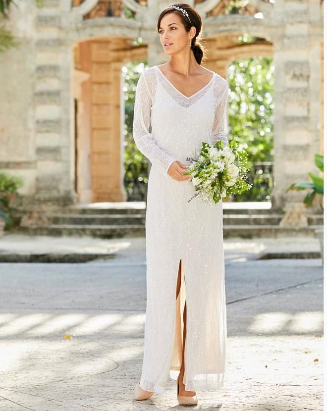 Joanna Hope Beaded Bridal Maxi Dress Available In Champagne Bridal Maxi Dress Beaded Maxi Dress Bridal Dresses